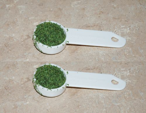 2 tablespoon parsley