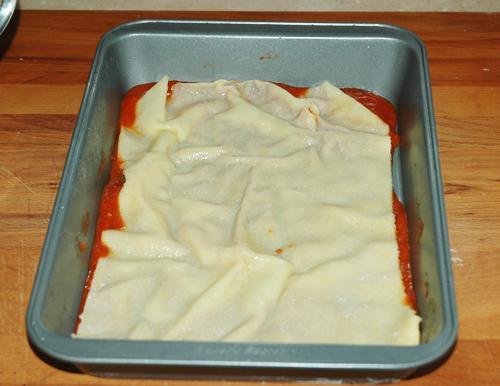 first pasta sheet