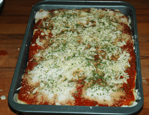 parsley ove lasagna