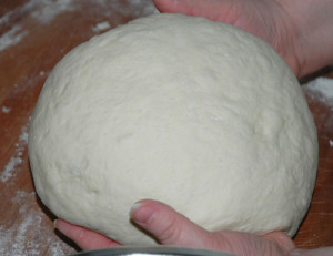 round dough again