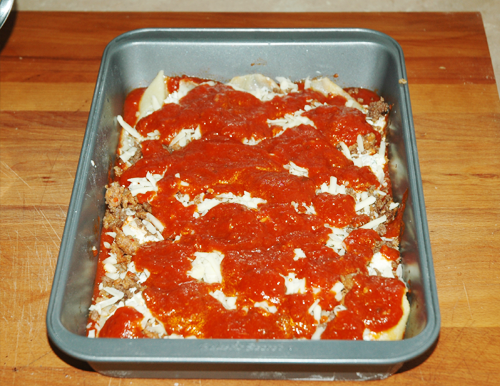 sauce layer
