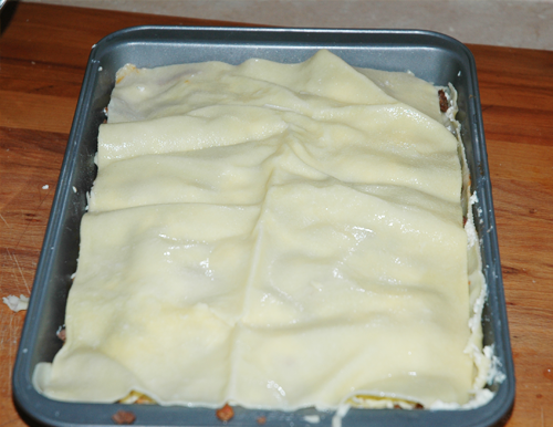 top pasta sheet