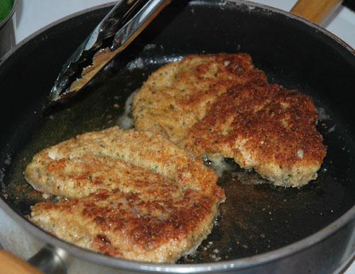 flip chicken and cook through