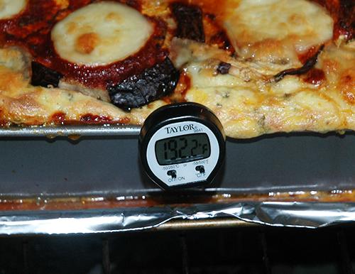 lasagna to temp