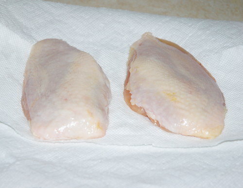 2 chicken breasts
